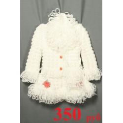 Пальто детское шерсть ручная вязка